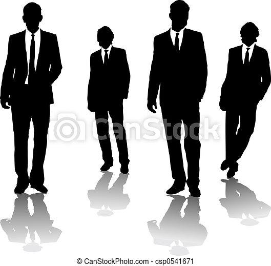 homens, negócio - csp0541671