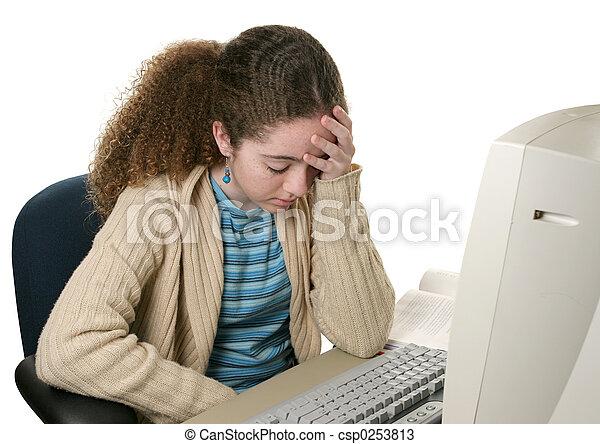 Homework Headache - csp0253813