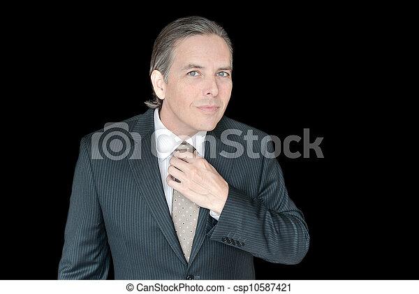 grande vente de liquidation vente professionnelle produit chaud homme affaires, ajustement, taille, cravate, haut