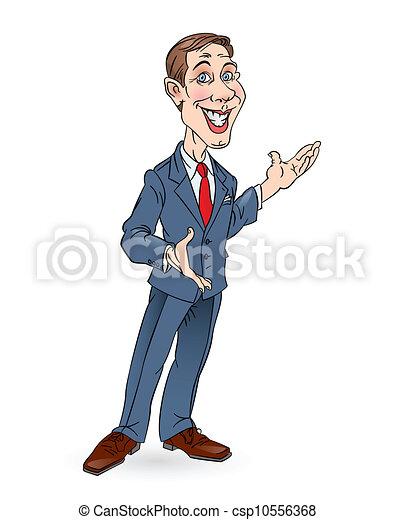 homme affaires - csp10556368