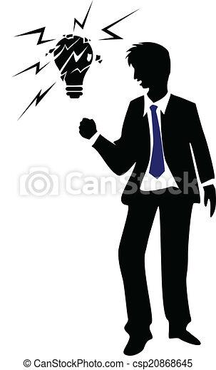 homme affaires, jeune - csp20868645