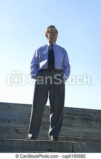 homme affaires - csp0160682