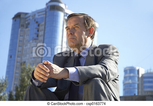 homme affaires - csp0163774