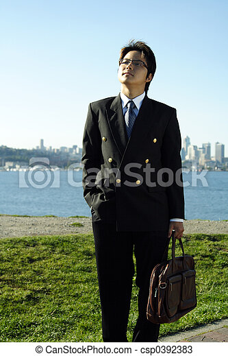 homme affaires - csp0392383
