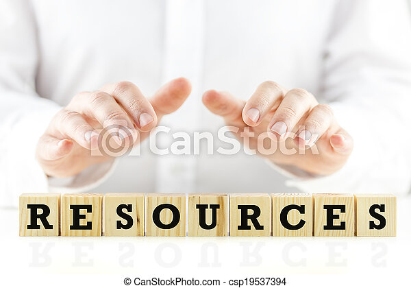 homme affaires, sien, ressources, protéger - csp19537394