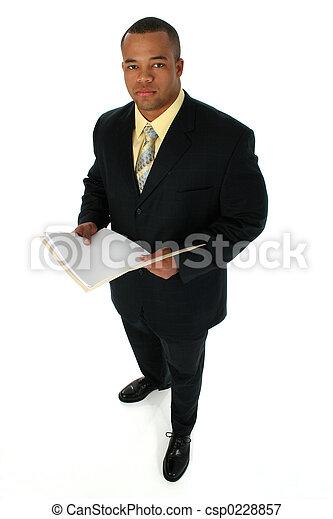 homme, noir, costume - csp0228857