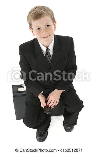 homme, peu, business - csp0512871