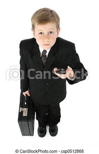 homme, peu, business - csp0512868