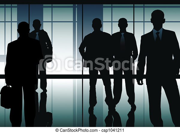 hommes affaires - csp1041211