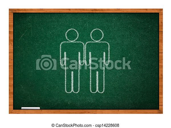 Homosexual love - csp14228608