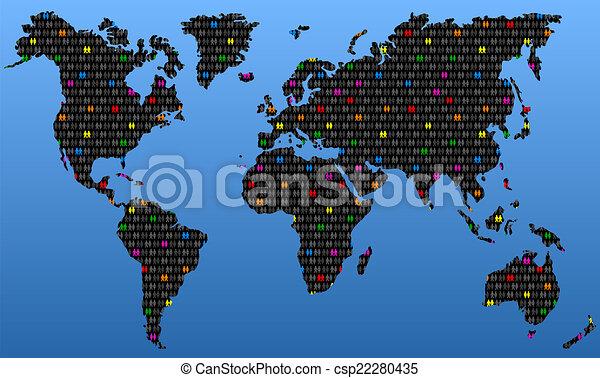 Homosexuality Global - csp22280435