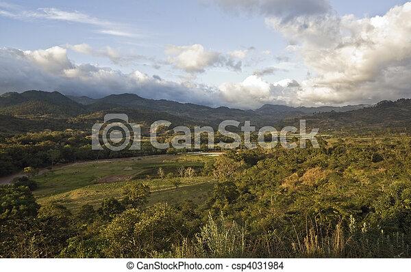 honduras, paisaje - csp4031984