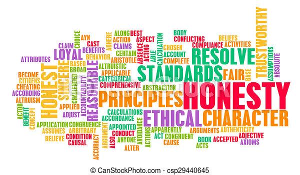 Honesty - csp29440645