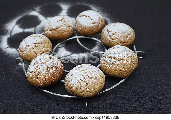 Honey Cookies - csp11953386