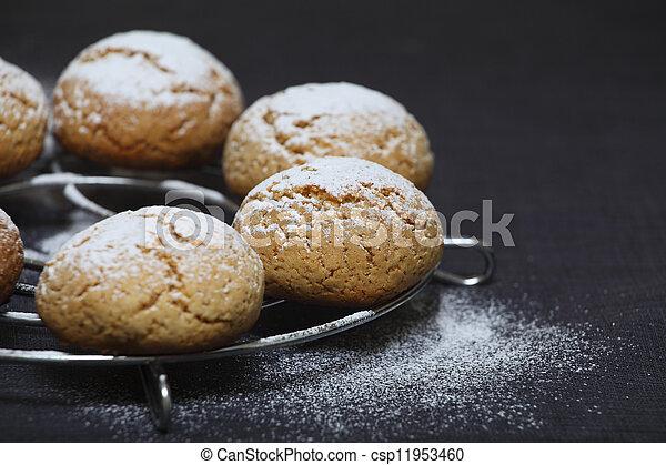 Honey Cookies - csp11953460