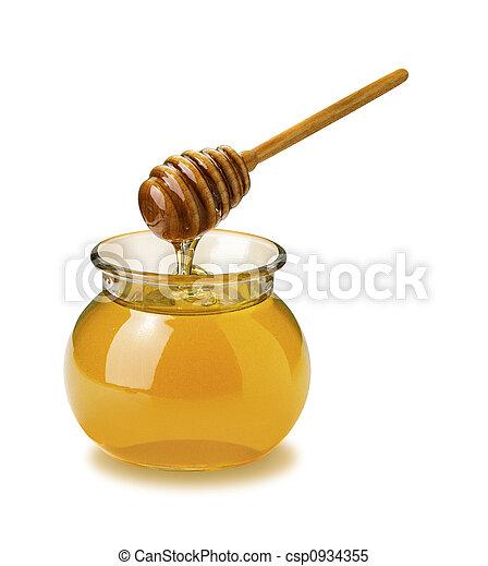Honey Jar - csp0934355