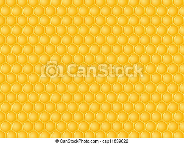 Honeycomb background honeycomb with honey background vector honeycomb background csp11839622 voltagebd Image collections