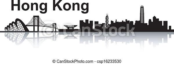 hong , γραμμή ορίζοντα , kong  - csp16233530
