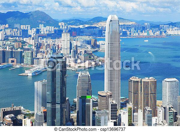 Hong Kong - csp13696737