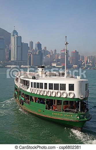 Hong Kong ferry - csp6802381