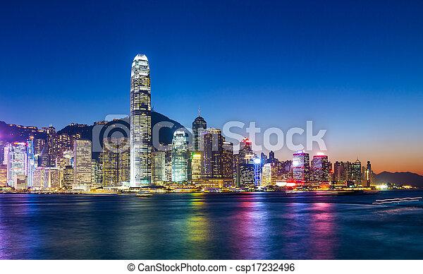 Hong Kong - csp17232496
