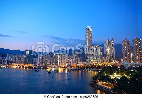 Hong Kong - csp9262636