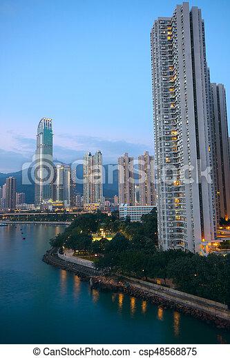 hong kong - csp48568875