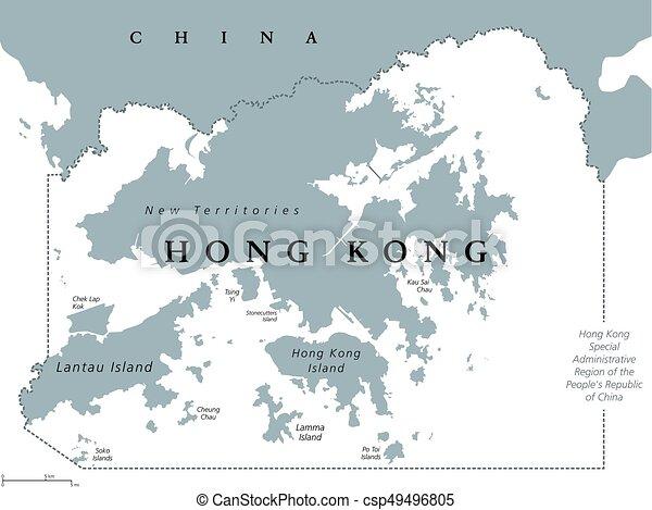 China Map In English.Hong Kong Political Map Hong Kong And Vicinity Political Map