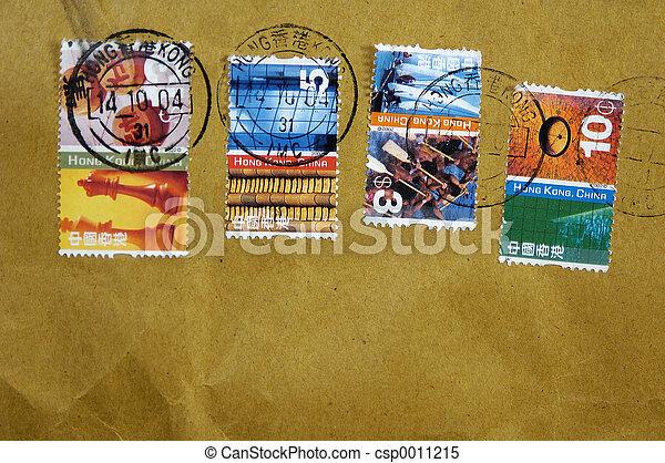 Hong Kong Postage - csp0011215