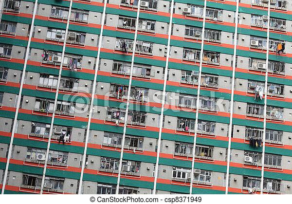 Hong Kong public house - csp8371949