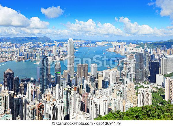 Hong Kong - csp13694179