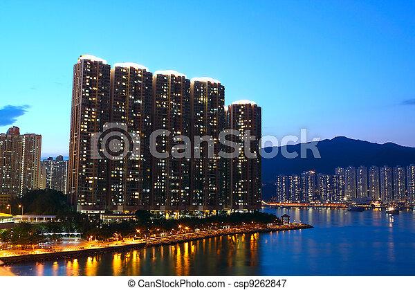 Hong Kong - csp9262847