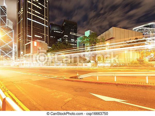 Der Verkehr in Hongkong - csp16663750