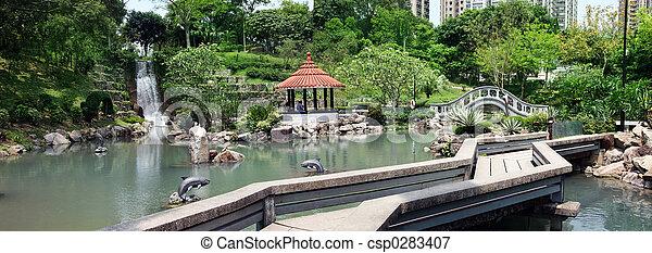 Estaciona en Hong Kong - csp0283407