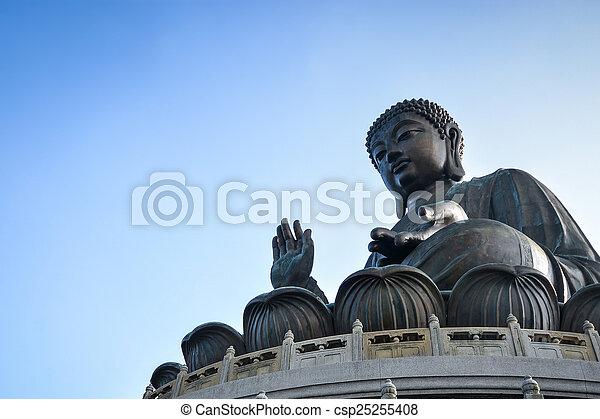 hong, reus, kong, tian, boeddha, looien - csp25255408
