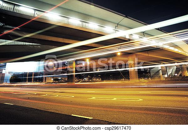 Verkehr in Hong Kong - csp29617470