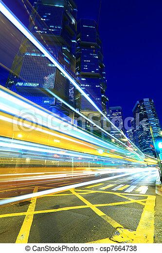Verkehr in Hong Kong - csp7664738