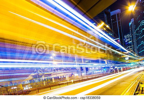 Verkehr in Hong Kong - csp18338059