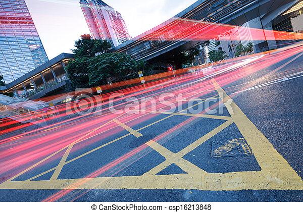 Verkehr in Hong Kong - csp16213848
