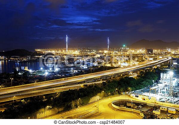 Verkehr in Hong Kong - csp21484007