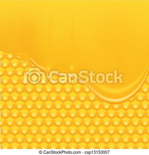 honing, achtergrond - csp13153007