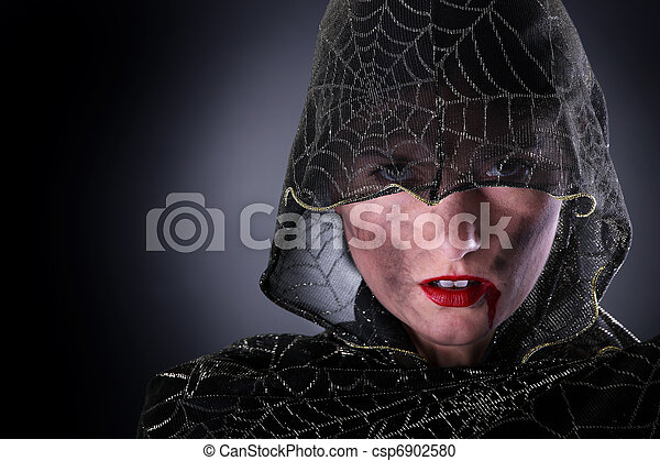 Hooded vampire - csp6902580