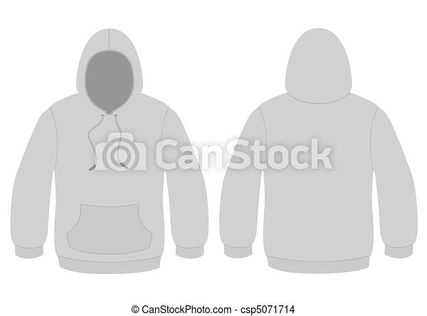 Hoodie vector template template vector illustration of a eps hoodie vector template pronofoot35fo Choice Image
