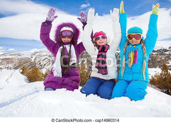 Hooray, winter fun - csp14960314