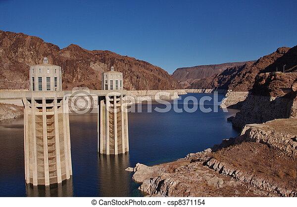 Hoover Dam, Arizona and Nevada - csp8371154
