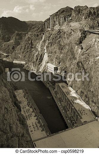 Hoover Dam - csp0598219