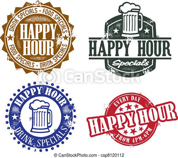 Gráficos de la hora feliz - csp8120112