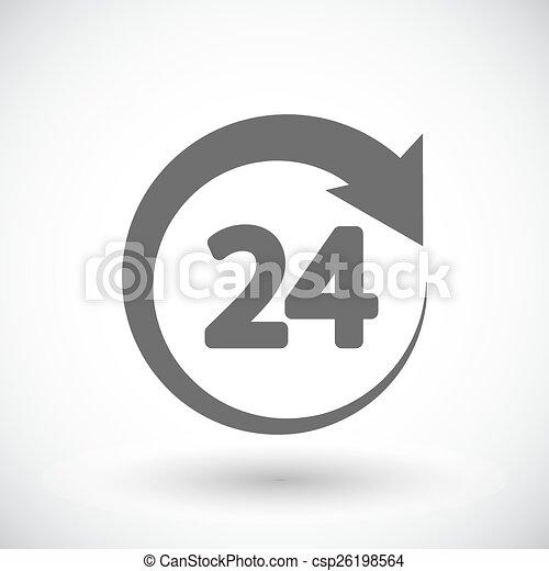 Horas 24 - csp26198564