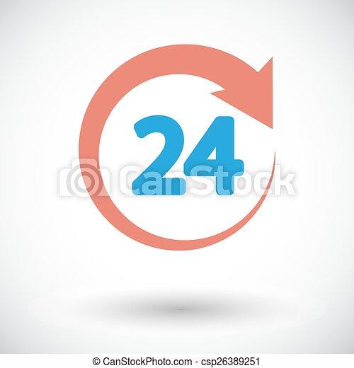 Horas 24 - csp26389251