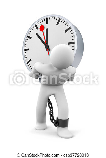 Largos horarios de trabajo - csp37728018